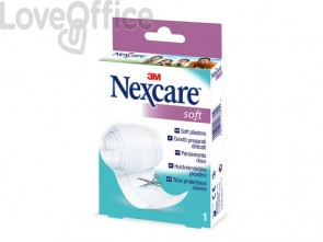 "cerotto in striscia Nexcare ""Soft"" - 8 cm x 1 m - N0501B"