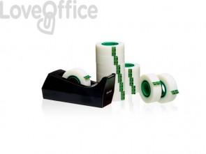 Dispenser per nastro adesivo Scotch® C38 nero + 12 rotoli di nastro adesivo