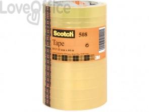 Nastro adesivo trasparente Scotch® 508 in torre 15 mm x 66 m trasparente 508-1566 (conf.10)