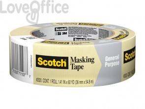 Nastro in carta 3M per mascheratura beige 2120E 30X50