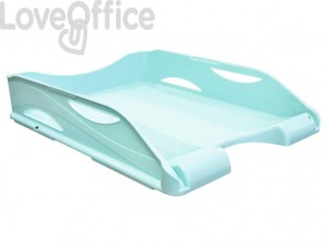 Vaschette portacorrispondenza ARDA Keep Colour Pastel polistirolo antiurto verde A4 - 65510PASV