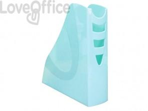 Portariviste ARDA Keep Colour Pastel polistirolo azzurro 7,5x26,6x27,8 cm 7118PASBL