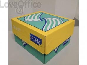 """Moduli continui """"CARTA BIANCA"""" Form 70 g/m² piste microperforate bianco scatola da 2000 moduli - 11150218"""
