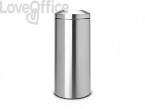 Cestino ignifugo Brabantia Flameguard Paper Bin inox satinato 378621