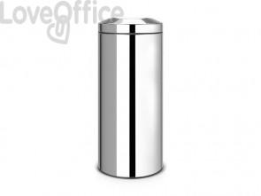 Cestino ignifugo Brabantia Flameguard Paper Bin inox lucido 287527