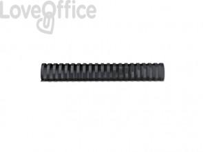 Dorsi plastici a 21 anelli GBC CombBind 38 mm a4 nero conf da 50 dorsi - 4028185