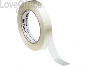 Nastro da imballo Tartan® filamento 12 mm. x 50 m. beige 8953 12X50
