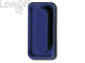 Cancellino magnetico per lavagna EURO-CART blu L-35/35