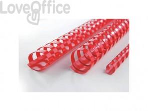 Dorsi plastici a 21 anelli GBC CombBind 10 mm a4 nero conf da 100 dorsi - 4028175