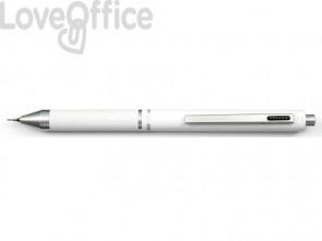 Penna 4 funzioni a scatto Osama Quadra - bianco OD 1024G/1 BI