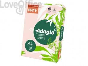 Carta colorata A4 Rosa INTERNATIONAL PAPER Rey Adagio 80 g/m² (risma 500 fogli)