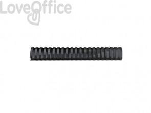 Dorsi plastici a 21 anelli GBC CombBind 51 mm a4 nero conf da 50 dorsi - 4028187