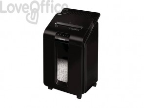 Distruggidocumenti uso moderato FELLOWES AutoMax™ 100M nero taglio a mini-frammento 4x10mm - 4629201