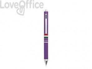 Penna 4 funzioni a scatto Osama Quadra - viola OD 1024ITG/1 VI