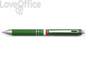 Penna 4 funzioni a scatto Osama Quadra - verde OD 1024ITG/1 V