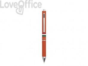 Penna 4 funzioni a scatto Osama Quadra - arancio OD 1024ITG/1 AR