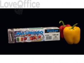 Rotolo per alimenti Rolsac Professional 120 m h 28 cm con scatola alluminio 37008
