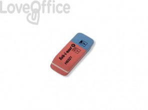 Gomme rosso/blu KOH-I-NOOR Blustar caucciù per matita e inchiostro (conf.40)