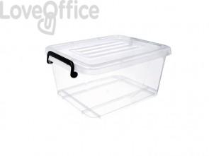 Scatola trasparente con coperchio Viso 275x215x125 mm trasparente BS1005