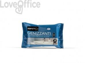 Salviette igienizzanti Perfetto Perfetto igienizzante bianco conf. 20 salviette - 0268