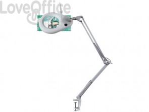Lampada da tavolo per ingrandimento UNILUX Zoom led bianco 400108073