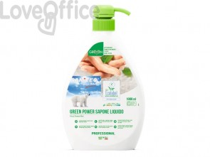 Detergente liquido mani, viso e vorpo SANITEC Green Power 1000 ml 4015