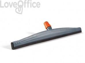 Spingiacqua Perfetto factory Teseo in ppl - 55 cm. grigio/arancio 26790