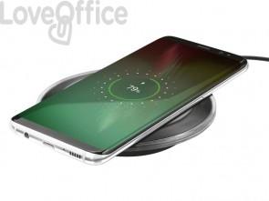 Caricabatterie wireless per smartphone TRUST Yudo nero 21310
