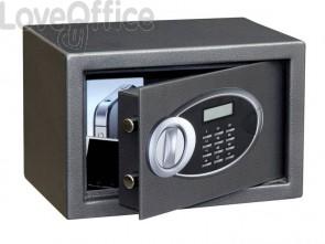 Cassaforte Phoenix grigio scuro con chiusura elettronica. 10 lt. SS 0101 E