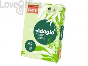 Cartoncini colorati A4 verde INTERNATIONAL PAPER Rey Adagio 160 g/m² (risma da 250 fogli)