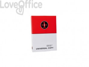 Carta per fotocopie A4 Primus Universal Copy 75 g/m² (5 risme da 500 fogli)