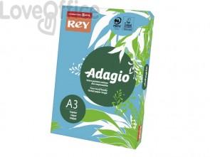 Cartoncini colorati A3 blu risma INTERNATIONAL PAPER Rey Adagio 160 g/m² (risma da 250 fogli)