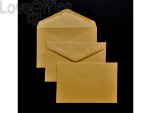 Buste senza finestra Pigna Envelopes 80 g/m² 120x180 mm giallo posta - 0459598 (conf.500)
