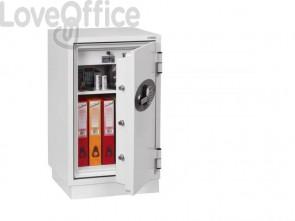 Cassaforte ignifuga Phoenix bianco - Ral 9003 con serratura a chiave doppia mappa. 25 lt. - FS 1282 K