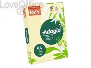 Cartoncini colorati A4 giallo canarino INTERNATIONAL PAPER Rey Adagio 160 g/m² (risma 250 fogli)