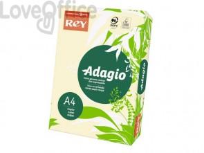 Cartoncini colorati A4 Avorio INTERNATIONAL PAPER Rey Adagio 160 g/m² (risma da 250 fogli)