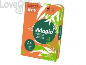 Cartoncini colorati A4 arancio INTERNATIONAL PAPER Rey Adagio 160 g/m² (risma 250 fogli)