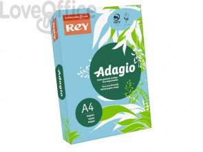 Cartoncini colorati A4 blu tenue INTERNATIONAL PAPER Rey Adagio 160 g/m² (risma 250 fogli)