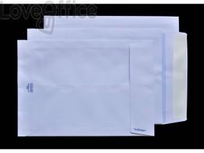 Buste a sacco bianche Pigna Envelopes Competitor strip Large soffietti 4 cm 120 g/m² 250x350 mm  conf. 250 - 0099078