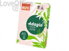 Cartoncini colorati A3 rosa INTERNATIONAL PAPER Rey Adagio - 160 g/m² (risma 250 fogli)