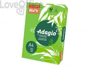 Cartoncini colorati A4 verde intenso INTERNATIONAL PAPER Rey Adagio 160 g/m² (risma 250 fogli)