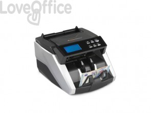 Conta-verifica banconote HolenBecky HT 6600 nero/silver controlli MG, MT, UV, MULTI IR, DD