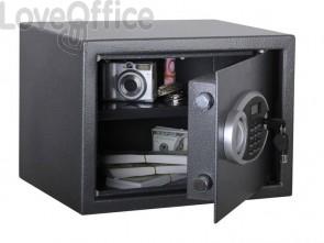 Cassaforte ignifuga Format grigio scuro - Ral 7024 con serratura a chiave doppia mappa. 241 lt. - PSPRO 4 K