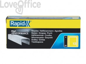 Punti metallici Rapid Super Strong a filo fine 13/8 conf. da 5000 - 11835600