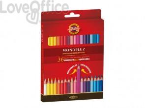 Astuccio matite multicolore acquerellabili KOH-I-NOOR legno di cedro 36 matite