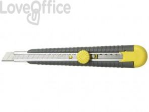 Cutter con lama a spezzare STANLEY lama a spezzare da 9,5mm a 12 elementi M10409
