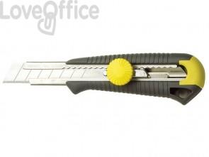 Cutter con lama a spezzare STANLEY lama a spezzare da 18mm a 8 elementi M10418