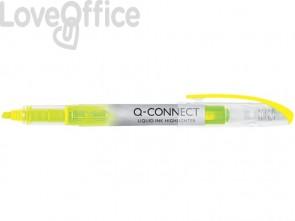 Evidenziatore a penna Q-Connect 1-4 mm giallo KF00395