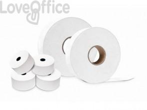 Rotoli per Distributori self-service Rotolificio Pugliese 57 mm x 130 m foro 12 mm - 55 g/mq (conf.3)