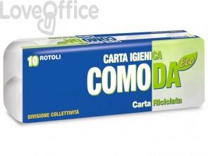 Carta igienica Lucart Eco Comoda 2 veli - 155 strappi - 811624 (conf.10 rotoli)